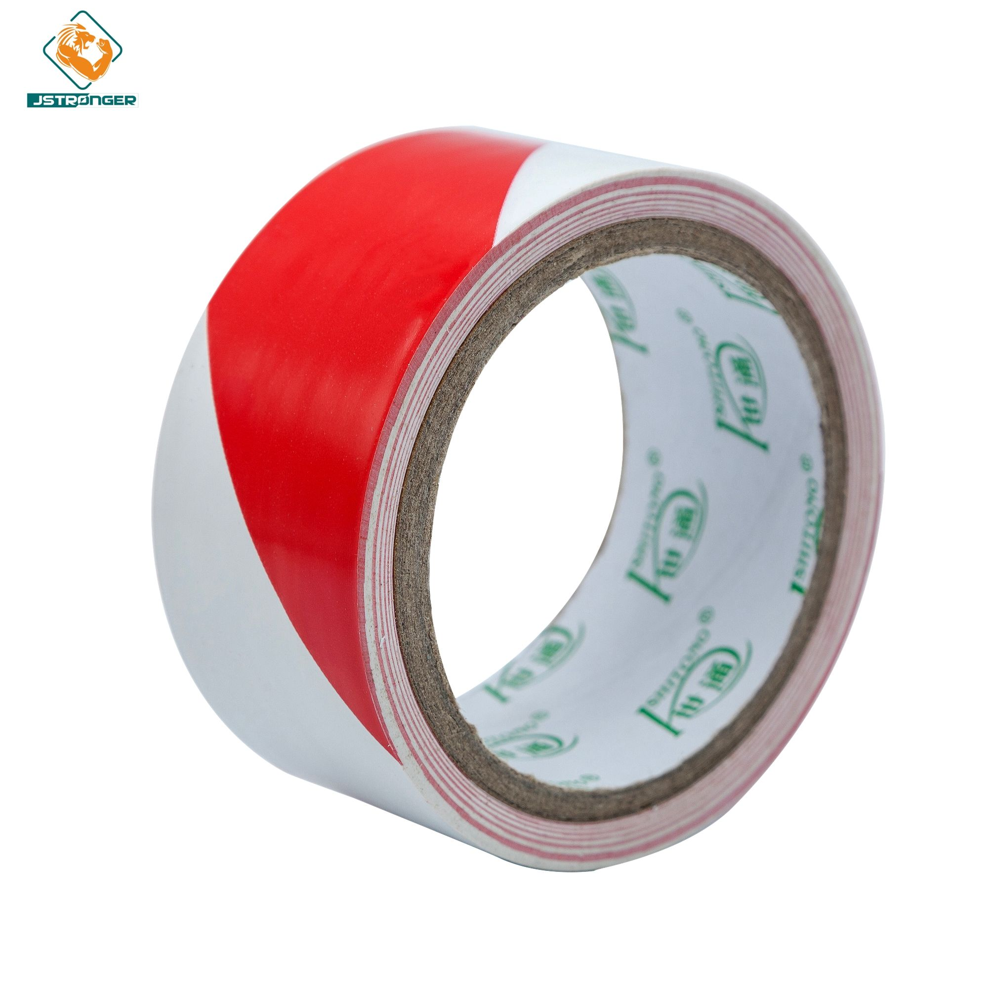 Low price Underground Detectable red&white pvc Warning Tape