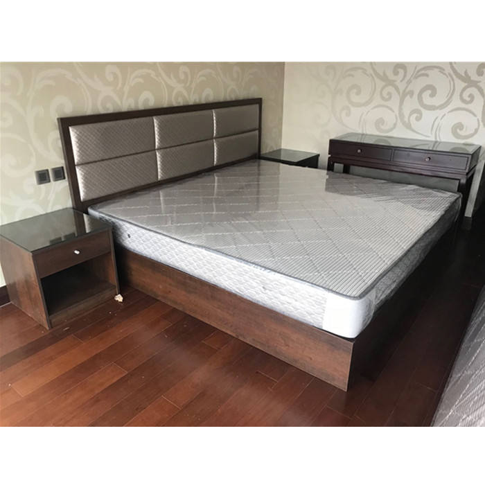 Wooden Budget Hotel Room Sets King Size Bed Furniture