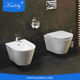 New Design Ceramic Hang Toilet with Soft Close Seat and Lid
