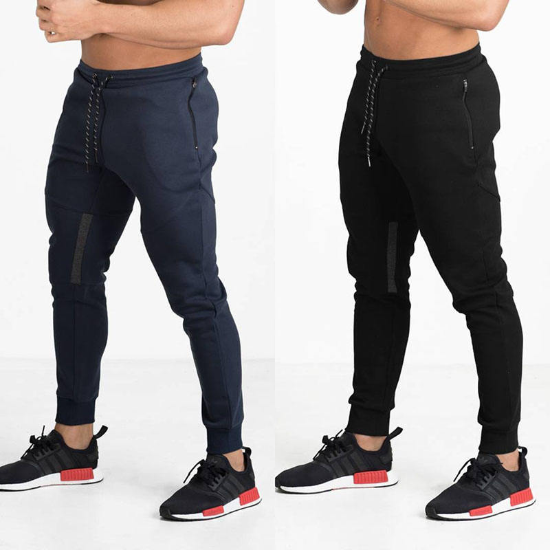 High quality custom made men sweatpants cotton spandex joggers mens gym joggers