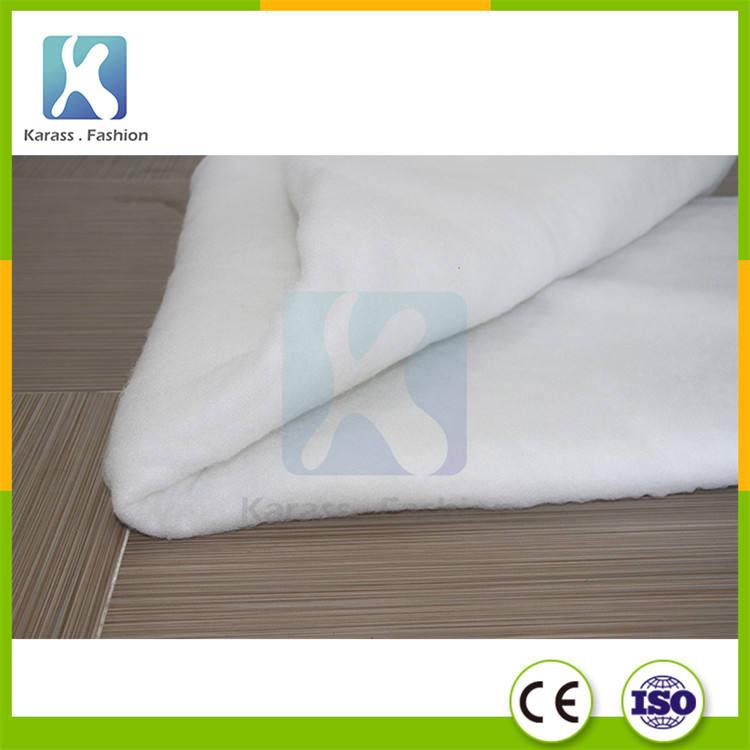 Organique Thermique Lié Ouate de Coton Courtepointe <span class=keywords><strong>Tissu</strong></span>