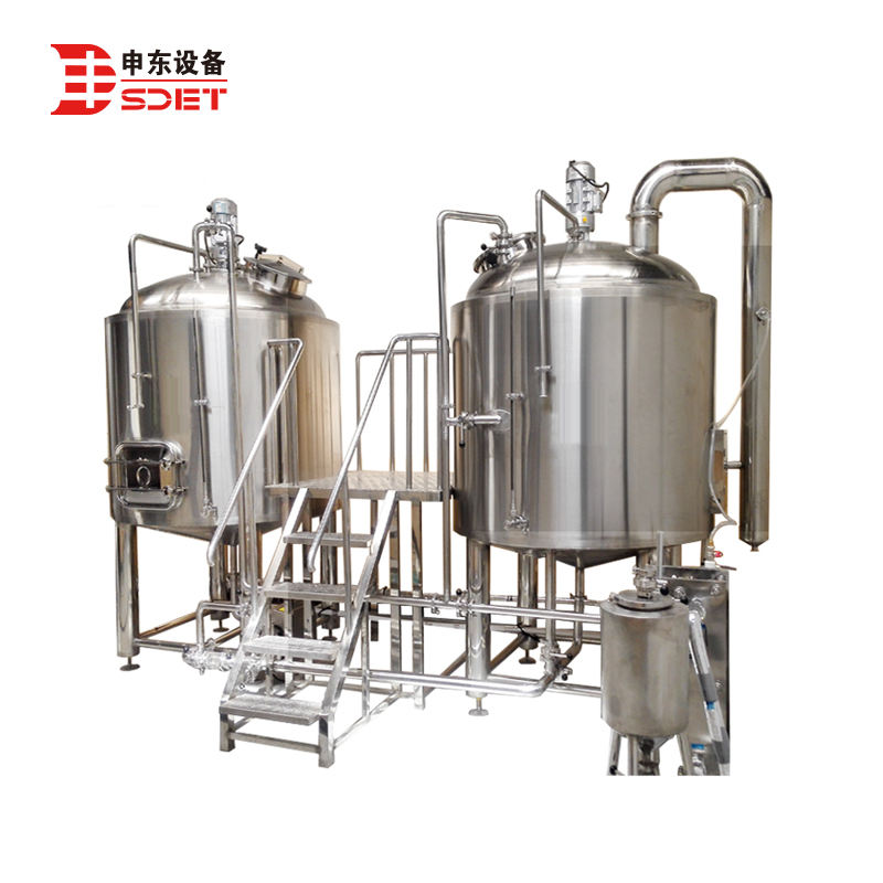 12% alcohol beer brewing equipment from Shendong Company
