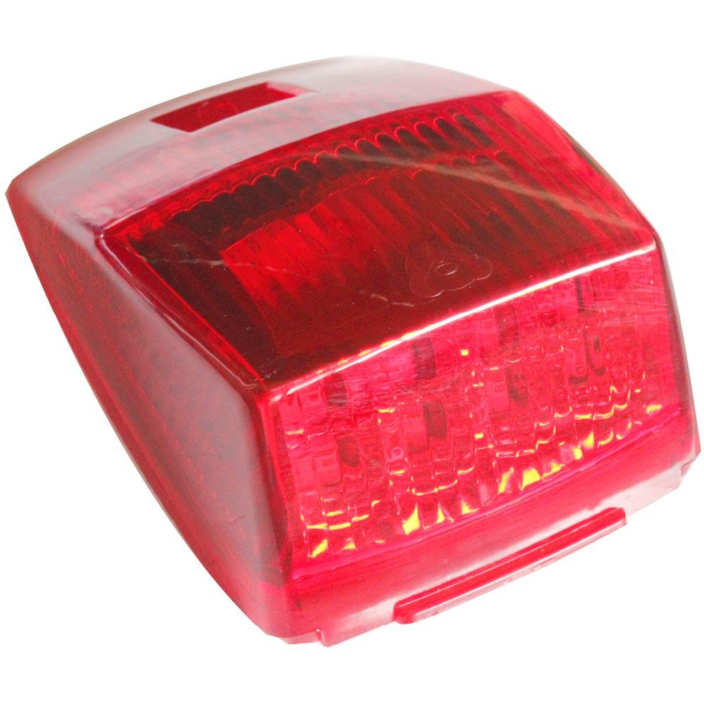 12v 24v commercial vehicles amber bright light red LED side marker light indicators lights