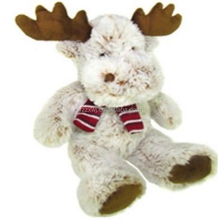 Plush Reindeer Cuddly Soft Toy Teddy Bear Xmas Gift Promotional Christmas Reindeer Plush Soft Baby Toy stuffed soft reindeer