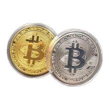 Custom souvenir metal Hot selling custom high quality commemorative bitcoin coin