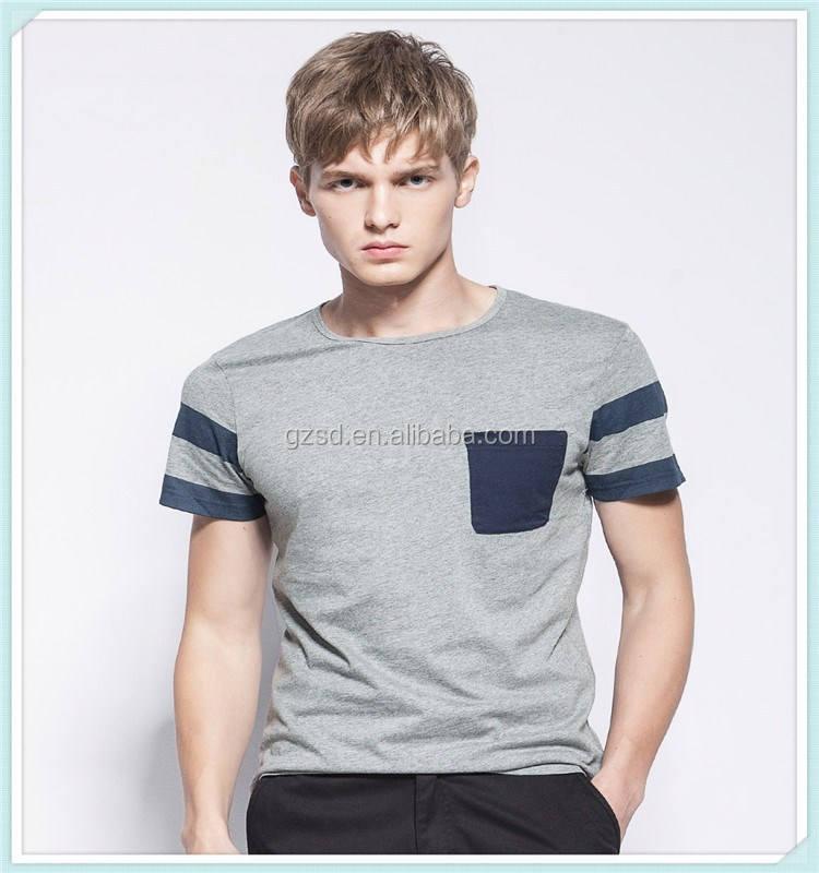 Dernières créations big tall gros bande 100% <span class=keywords><strong>coton</strong></span> t chemise pour hommes