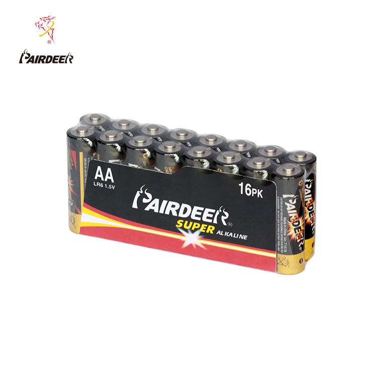 Pairdeer 2900mAh am3 aa 1.5v lr6 lr03 alkaline no. 5 dry battery