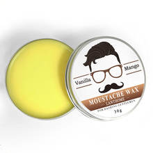 OEM    beard care Moustache Wax for styling, Beeswax moisturizing smoothing gentlemen beard care