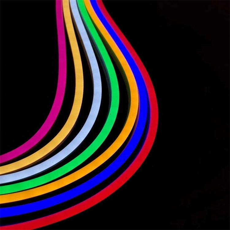 Shenzhen Rebow smd2835 12v 24v slim silicone IP67 waterproof flexible strip 6mm 8mm led flex neon