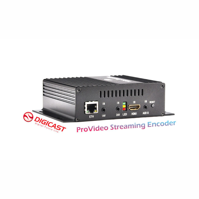 (DMB-8800A) HD IPTV Server Encoder H.264 IPTV Streamer HDMl e 2 * CVBS per il video survellaince