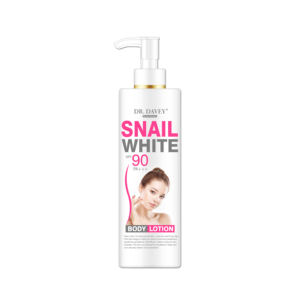 Da. Davey Pelembab Whitening Lightening Snail White Body Lotion SPF90