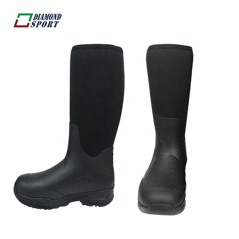 Premium oil industry mining steel toe rubber safety boots for engineers
