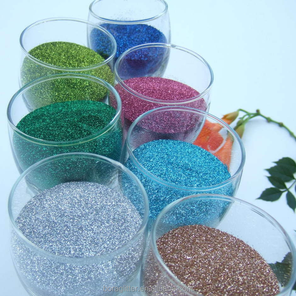 BL 2017 Colorful Glitter for DIY/german glass glitter for decoration