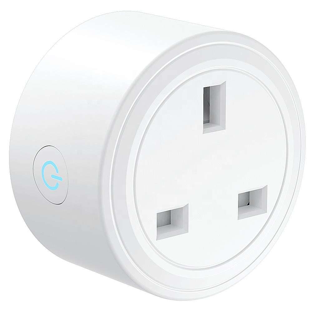 Oem Fabrikant 13A Uk Smart Plug Wifi <span class=keywords><strong>Socket</strong></span> Energy Monitoring Met Alexa & Google Thuis