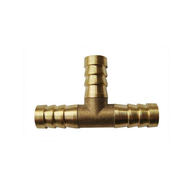 CNC Machine turning aluminum/monel/bronze Lot Copper T Type Pagoda Joint, industry gas swivel joint