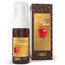 Private Label Apple Cider Vinegar Foaming Face Wash Cleanser Reduce Acne Breakouts