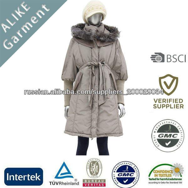 ALIKE 2014 Новый Поток Свободные Продлить зимние пальто Parka