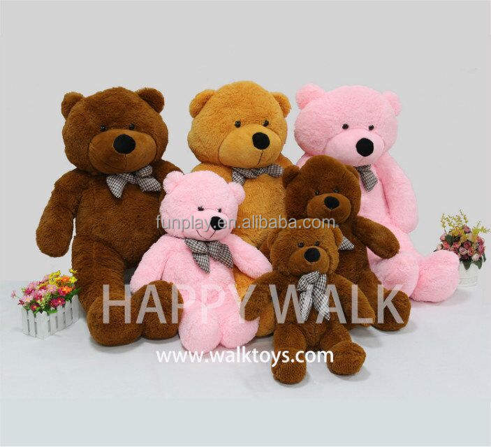 HI CE certificate giant plush teddy bear doll wholesale plush toys used for promotion gifts