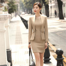 Custom Made Blazer Women Business Suit For Lady Office Skirt Suit