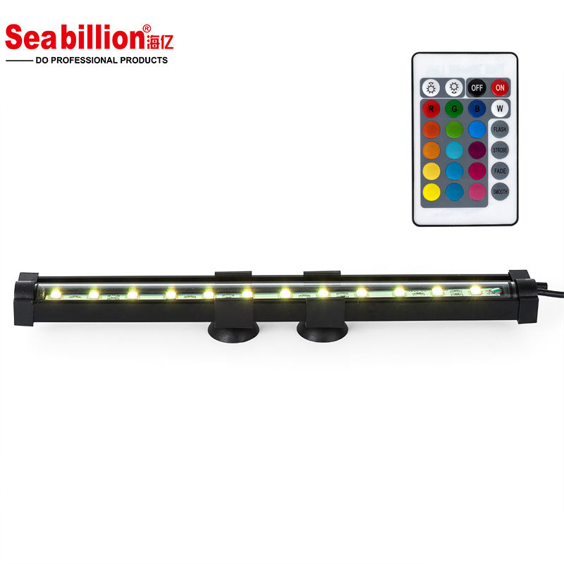 Seabillion Aquarium Led Bubble LightとRemote Control RGB 16 Colors Durable For Fish Tank DC12V Good Quality China Supplier