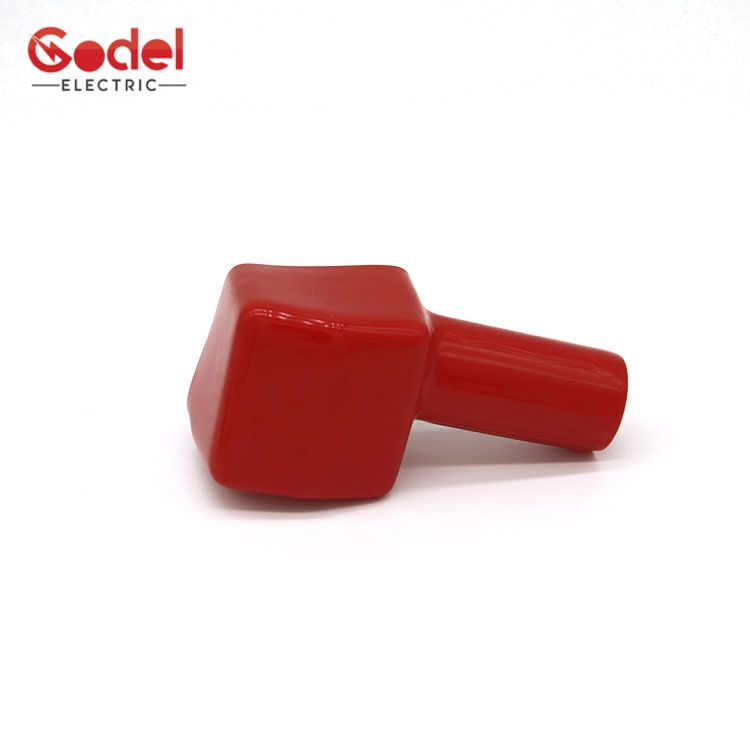 Battery End Insulated Cover Silicone PVC Battery Auto Vinyl Terminal Cap Cover