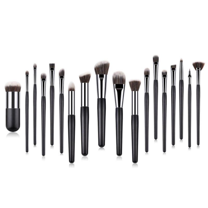 18 pcs beauty needs makeup brush set foundation custom logo professional personalized custom logo