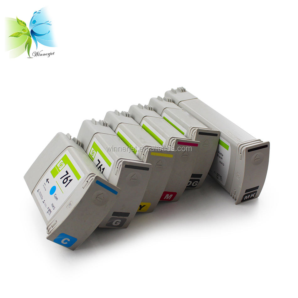 Refillable Ink cartridge For HP Designjet T7100 For Hp 761 ink cartridge