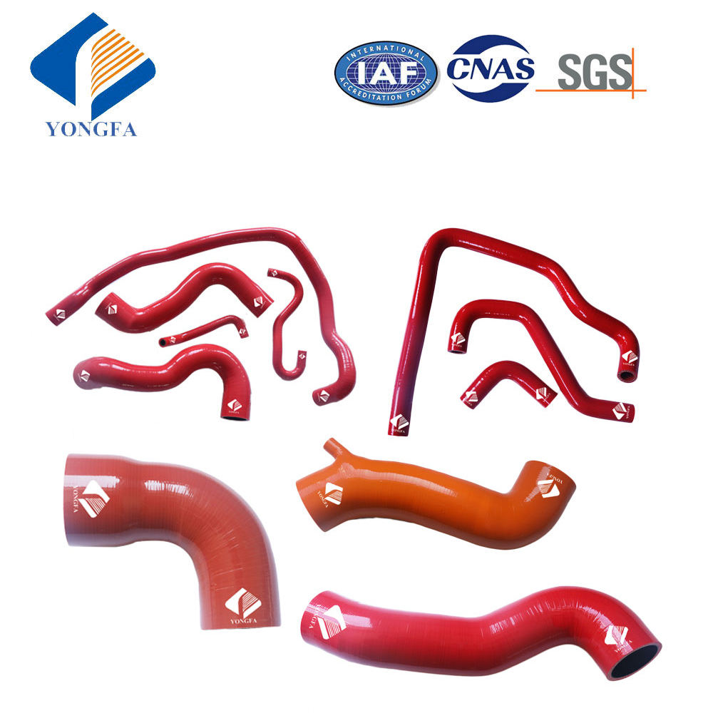 Red  fit Honda TRX700XX TRX 700XX 2008 2009 2010 2011 Silicone Radiator Hose Set