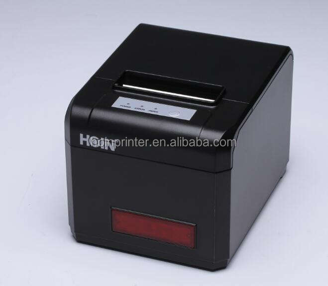High End Pos Terminal Usb + Bluetooth Hoin Fabriek Thermische Printer Met Grote Led Shining Screen