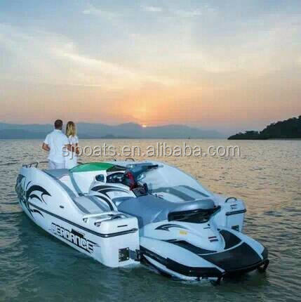 1800CC 4 Stroke water scooter Mate sanjiang for sale with wakeboard & small table