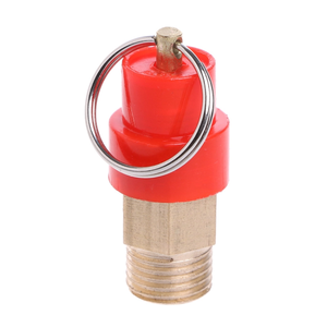 1/8, 3/8,1/4,3/4 Air compressor safety relief valve good prices of pressure safety valve 3-15bar