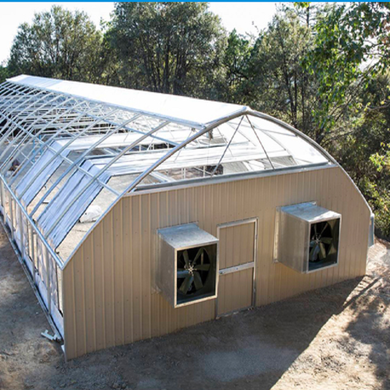 commercial tunnel plastic light deprivation Greenhouse Used for Sale