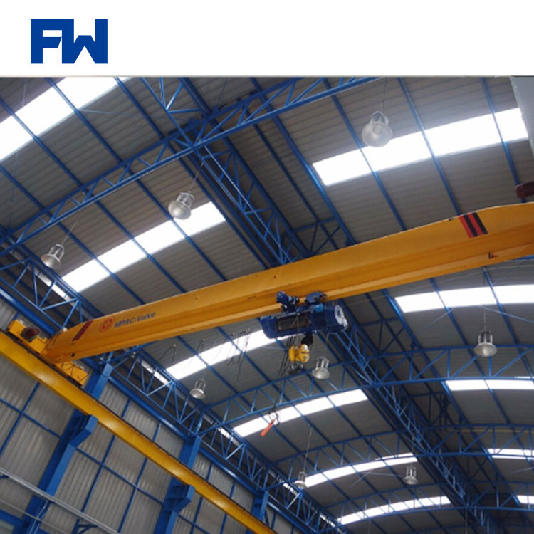 0.5t-20t Electric Hoist Bridge Crane Single Girder Overhead Traveling Crane For Sale