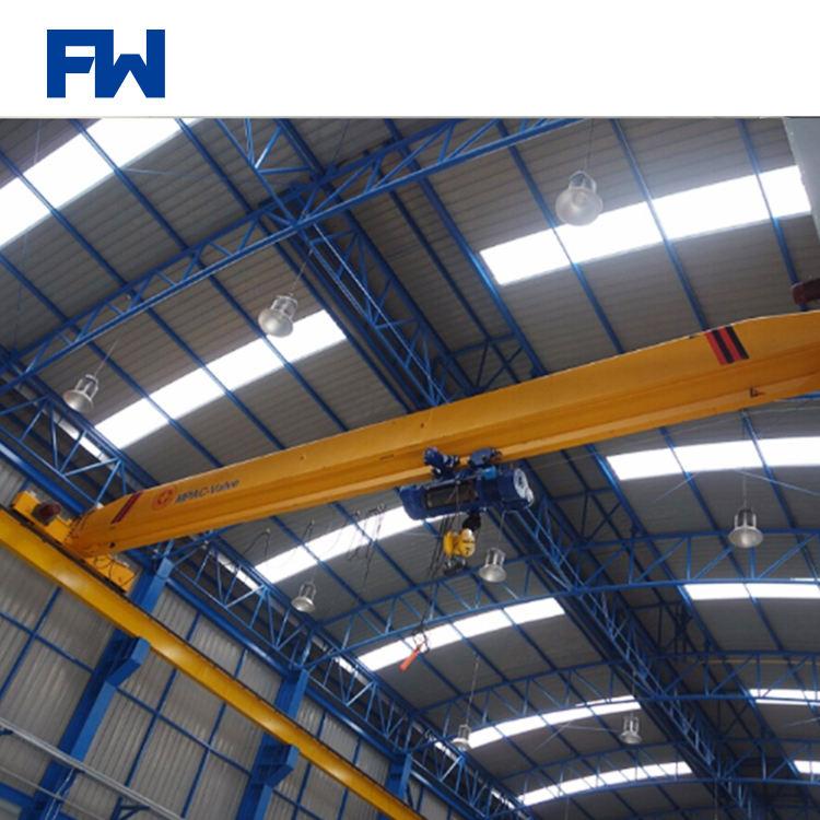 0.5t-20t Electric Hoist Bridge Crane Single Girder Overhead Traveling Crane For Sale