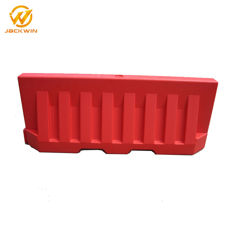 2M Blowing Plastic Temporary Flood Barrier For Road Construction