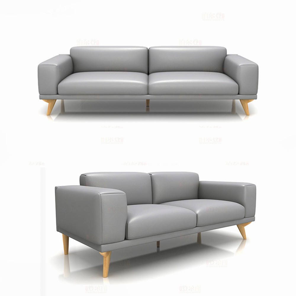 Top grain cow leather sofa sets, artistic leather sectional sofa furniture, ssolid wood legs sofa