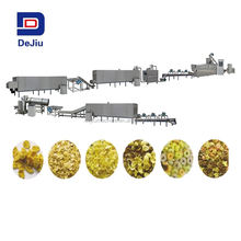 Automatic Industrial Breakfast Cereal Corn Flakes Making Machinery/corn chips processing line price