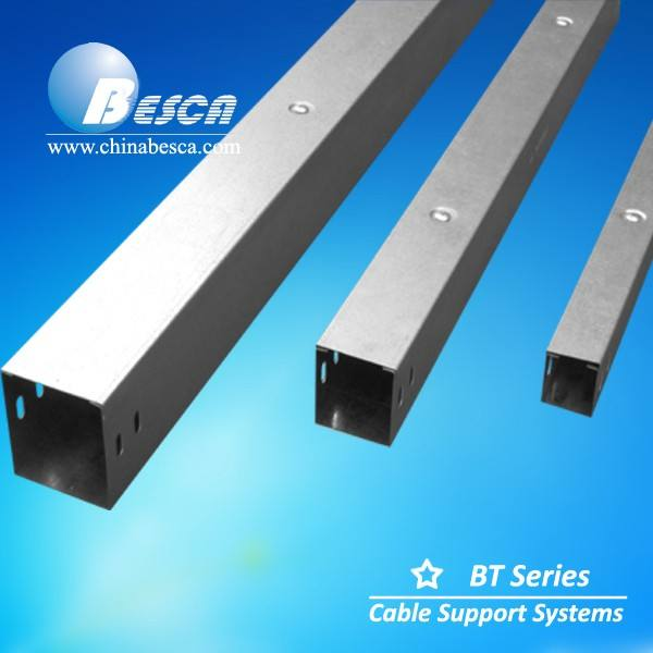 Better Price Besca Industrial Metal Cable Trunking Supplier Certifications