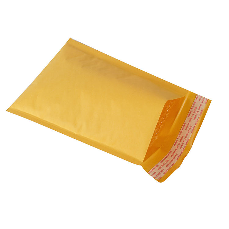 Mailing Printing Yellow Gift Cards And Holographic Envelopes Bubble Bag Kraft Paper Card Envelope Custom Poly Mailer