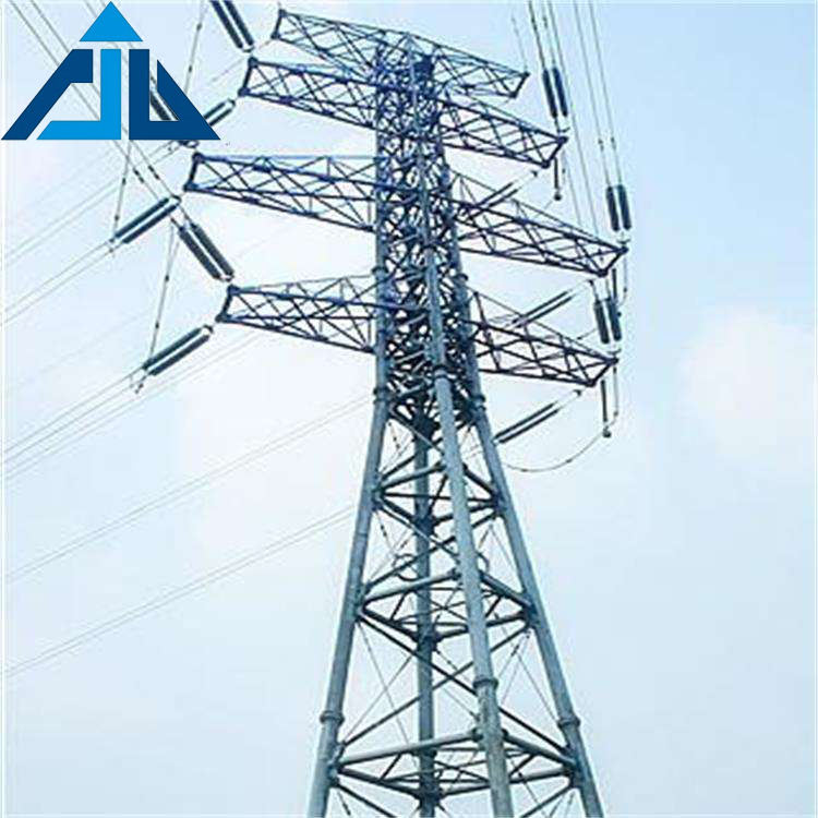 Electric power lattice tower transmission line electrical tube telescopic steel pole