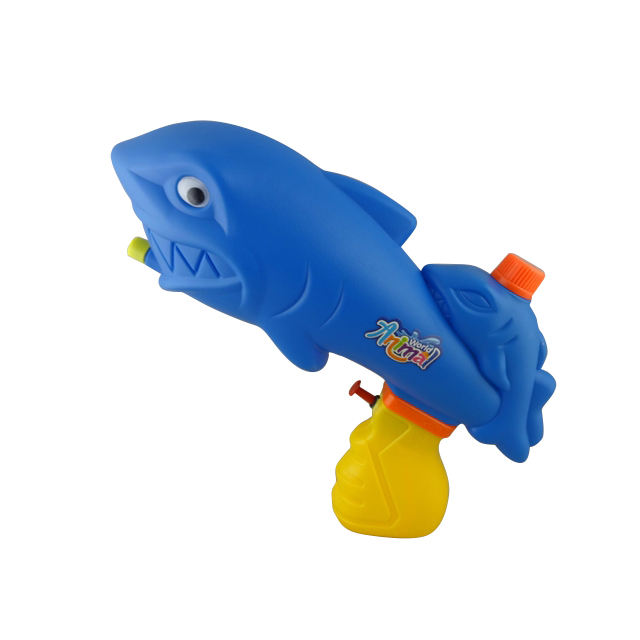 water gun toy solid color shark water spray gun toy outdoor toy water spray gun realistic