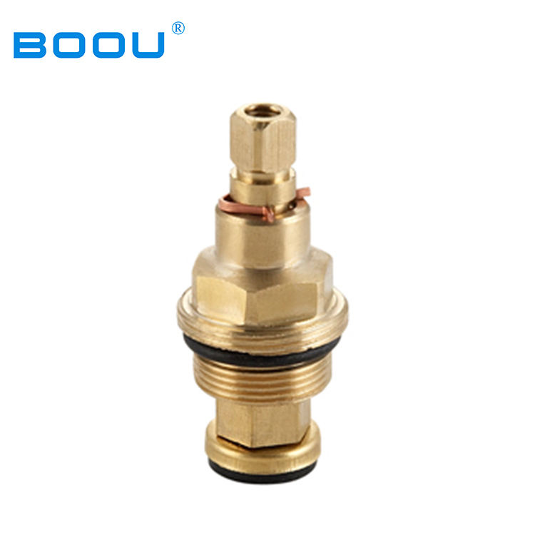 Multi-function basin faucet parts brass cartridge