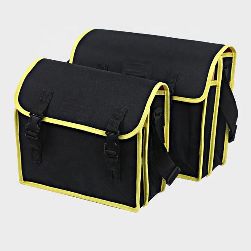 Drop Ship Waterproof Canvas Strong Strap Electrician's Tool Bag with Double Layer Compartment
