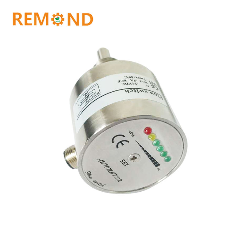 High accuracy stainless steel thermal water flow switch air flow switch