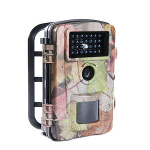 Zecre PH700A 2.4 Inch 1080P 12MP Night Vision Trail Camera Scouting Camera with 27 Pieces 940NM Infrared LEDs