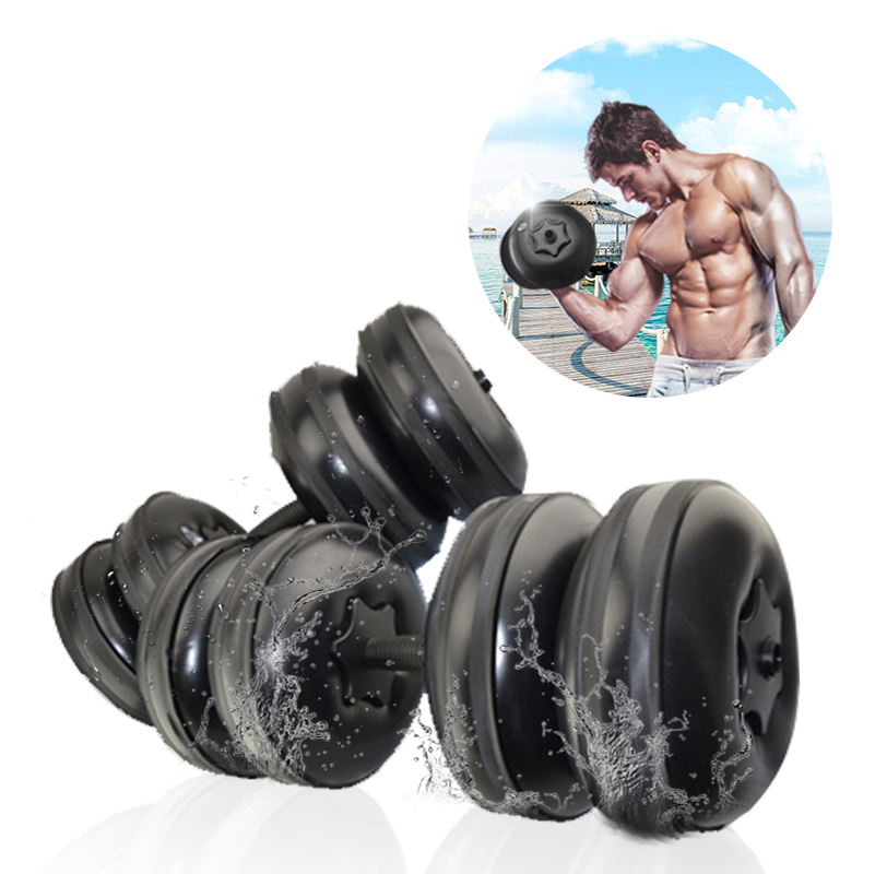 Best price free weights fitness rubber coat dumbbells cover