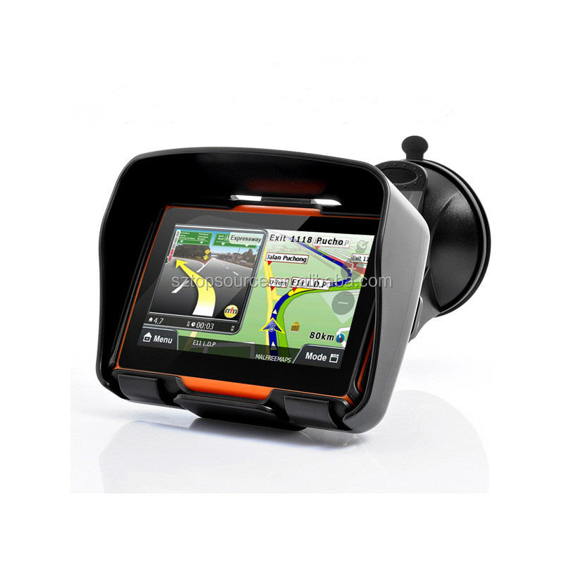 Professional portable gps navigation truck drivers with free maps and multiple languages