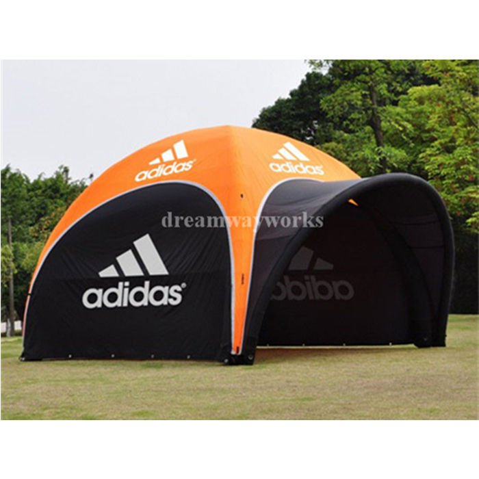 2020 Hot sale inflatable air tent camping, inflatable canopy, inflatable tent with removable doors