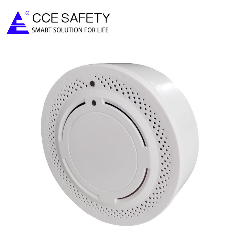 Wireless Smoke Detector with Battery, 315 MHz/433/868 MHz Optional