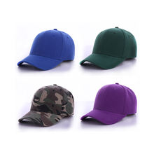 OEM custom 6-panel foldable fitted hat plain baseball cap